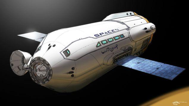 nohxqiezd8qsegr5tjb6 Le futur de lHumanité passera par Mars daprès Elon Musk