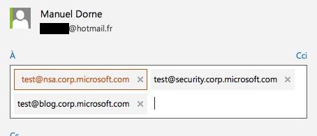 outlook domain microsoft Devinette : Les domaines internes chez Microsoft