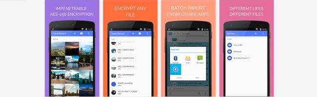 Secrecy – Une application Android pour garder tous vos secrets