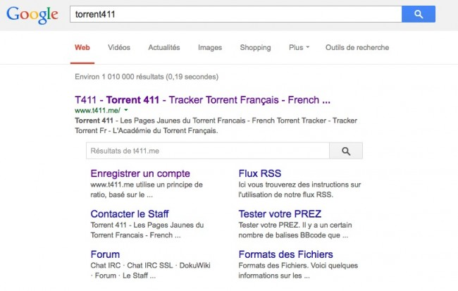sitelinks3 650x413 Google et ses petits moteurs pirates