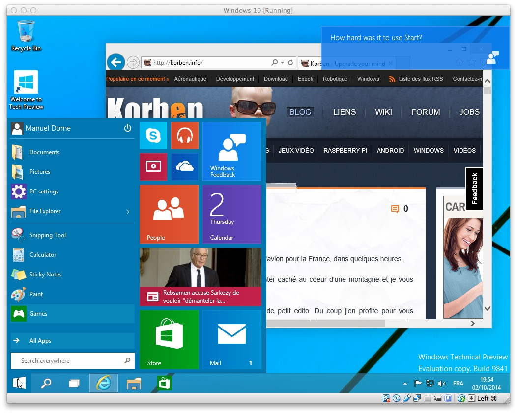 T l charger et installer windows 10 korben - Table de mixage virtuel a telecharger gratuitement ...