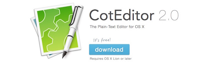 CotEditor – Un éditeur de texte à la Notepad++ pour OSX