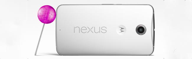 Test du Nexus 6
