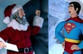 Superman vs Père Noël