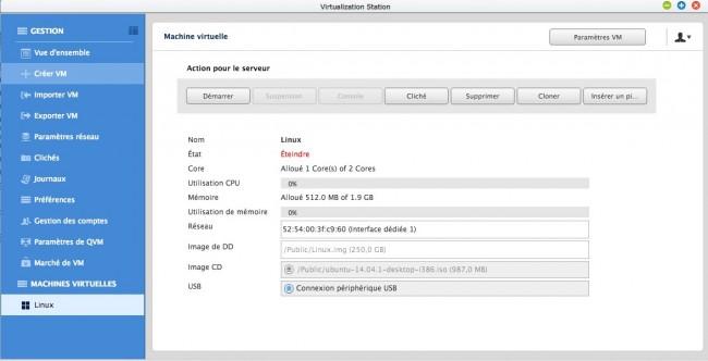 virut2 650x332 Test du NAS Qnap HS 251 (et je vous en offre un en cadeau)