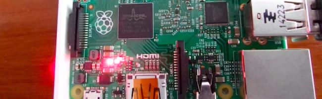 Le Raspberry Pi 2 photosensible