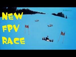 FPV Racing en slalom