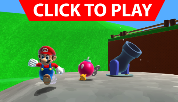 Click to play Mario 64 webplayer