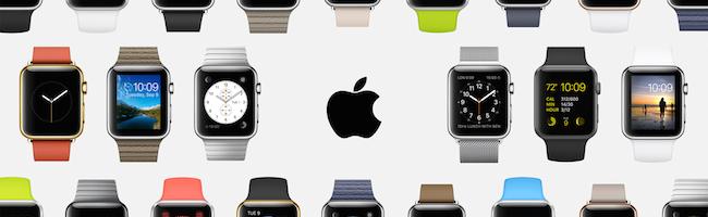Essayage de l'Apple Watch