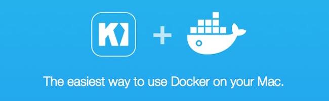 Kitematic – Une interface graphique OSX pour Docker