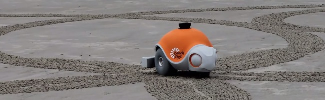 BeachBot – L'imprimante sur sable