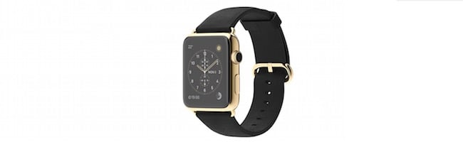 Une Apple Watch en or pour 97 $
