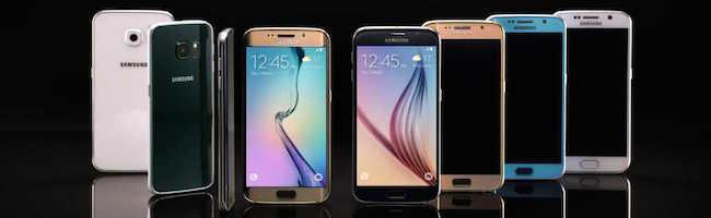 Test des Samsung Galaxy S6 & Edge