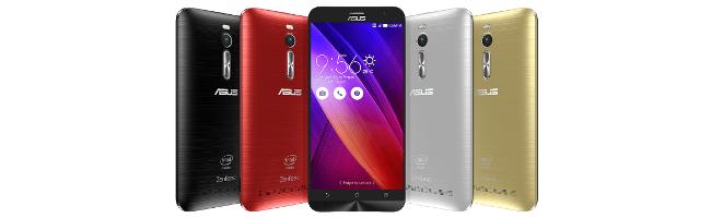 Promo sur le Zenfone 2, plus bas que son prix de lancement