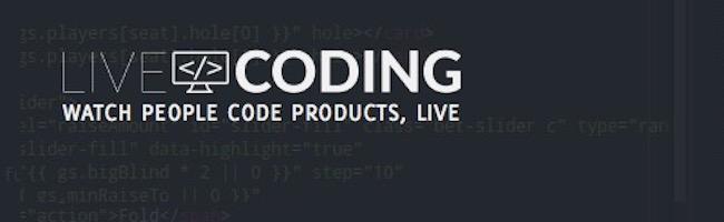 LiveCoding – Le Twitch des développeurs