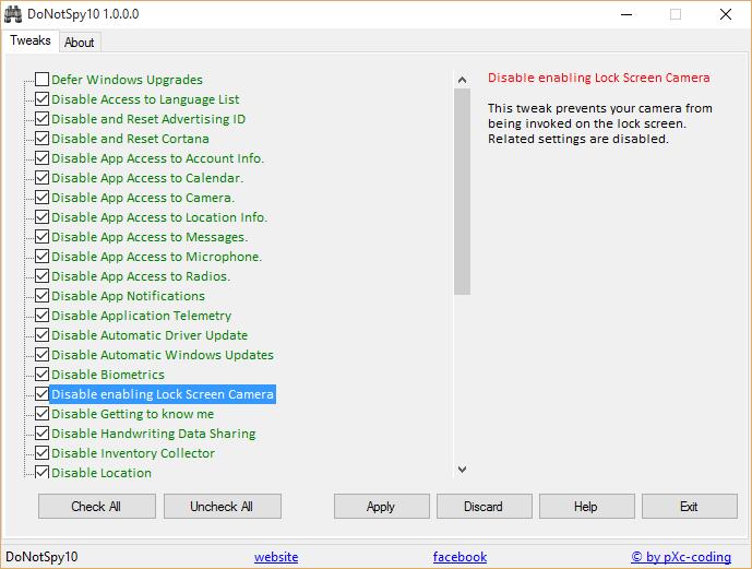 Windows10 Un freeware pour désactiver toutes les ...