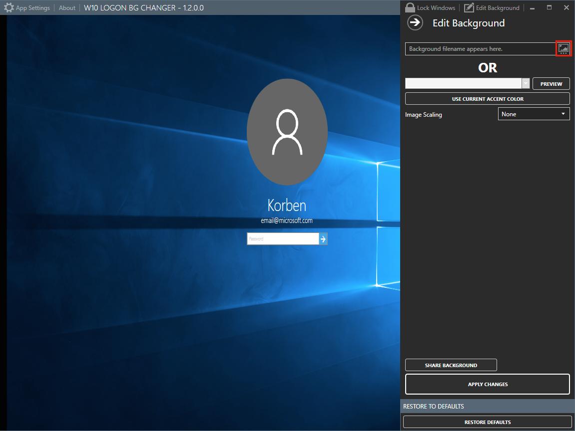 Comment changer le fond de l cran de login de windows 10 korben - Comment nettoyer un ecran d ordinateur ...