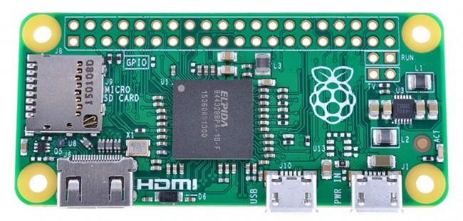 Le Raspberry Pi Zero est sorti et il ne coûte que 5$ !