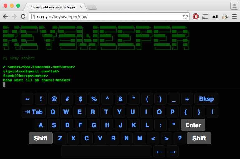 KeySweeper – Pour sniffer les claviers sans fil Microsoft