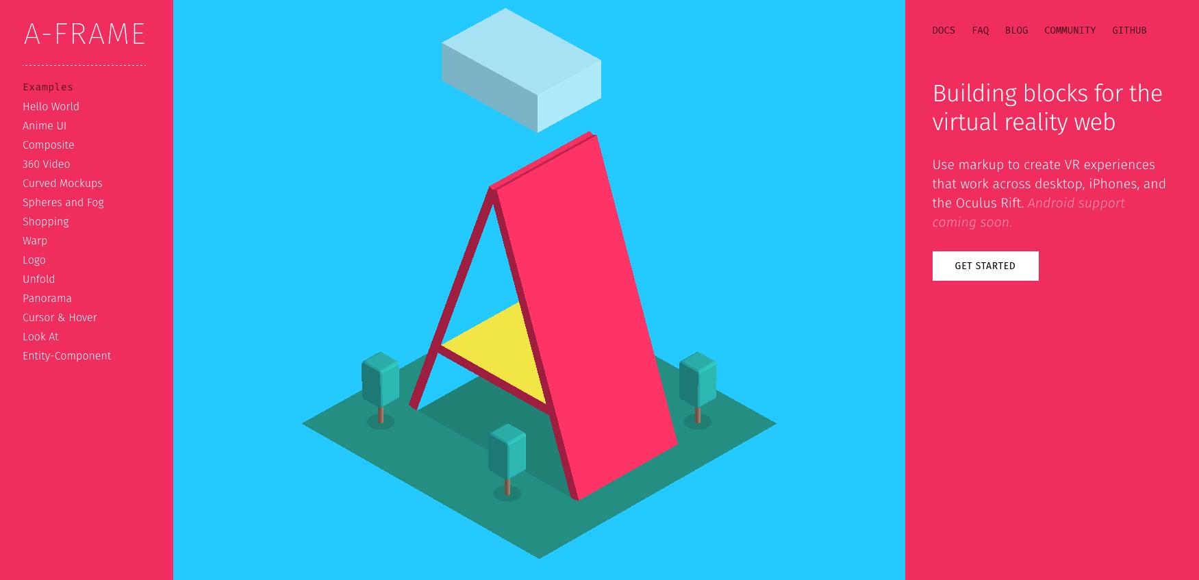 A-Frame – Le framework de Mozilla pour se lancer en douceur dans la