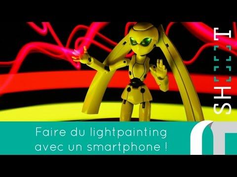 Comment faire une photo en lightpainting avec un smartphone