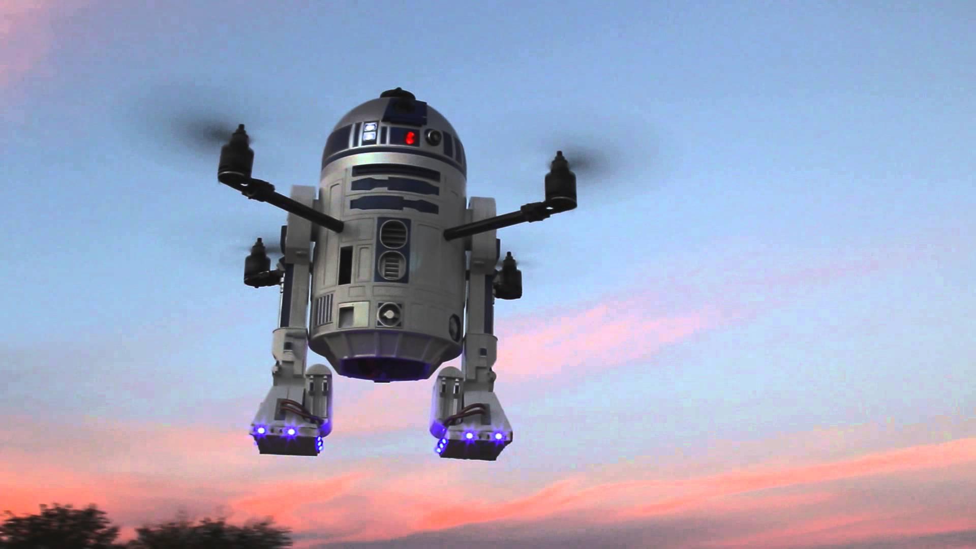 Le drone R2D2