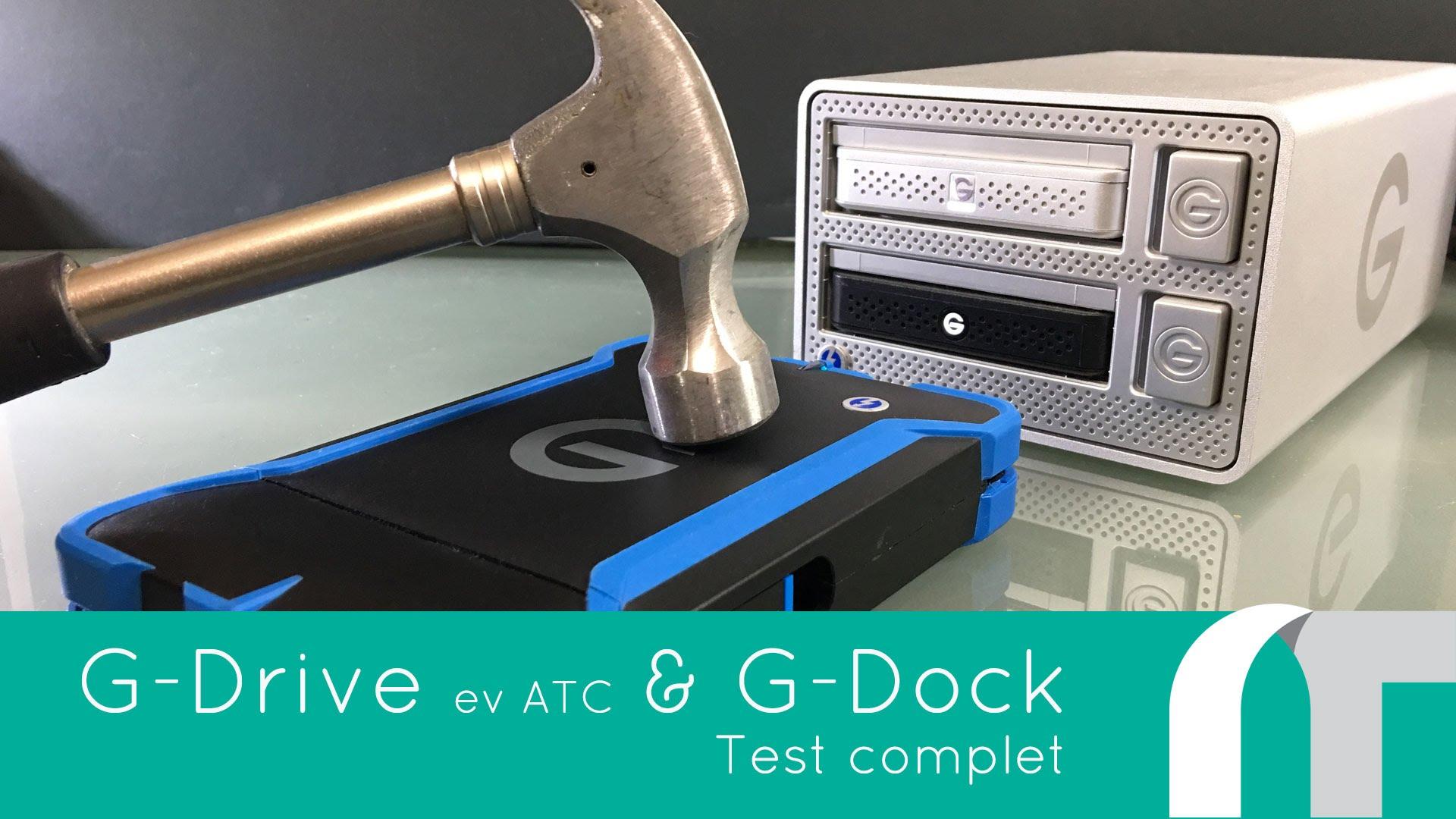 Test des G-drive et G-dock