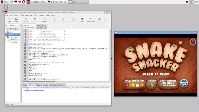 AppGameKit for Pi IDE