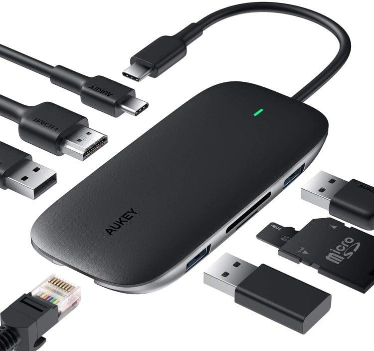 Aukey adaptateur USB type C