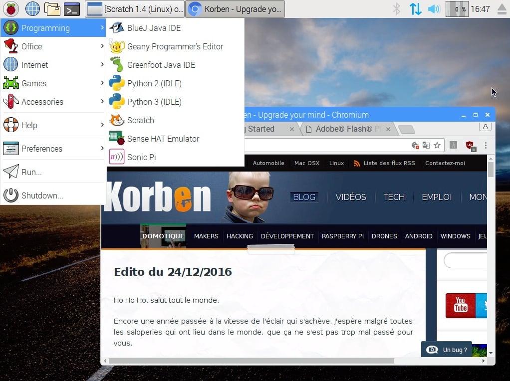Raspbian + Pixel , l'OS du Raspberry Pi débarque sous PC et