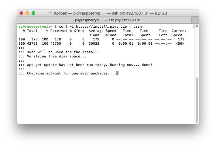 PiVPN – Pour transformer un Raspberry Pi en serveur OpenVPN