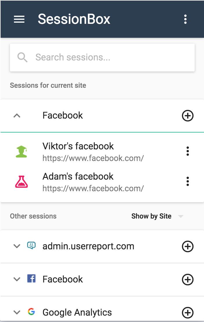 SessionBox – Comment se connecter avec plusieurs comptes différents sur un même site et dans un seul navigateur ?