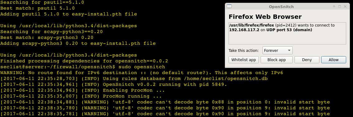 OpenSnitch – Le clone du firewall Little Snitch pour GNU/Linux