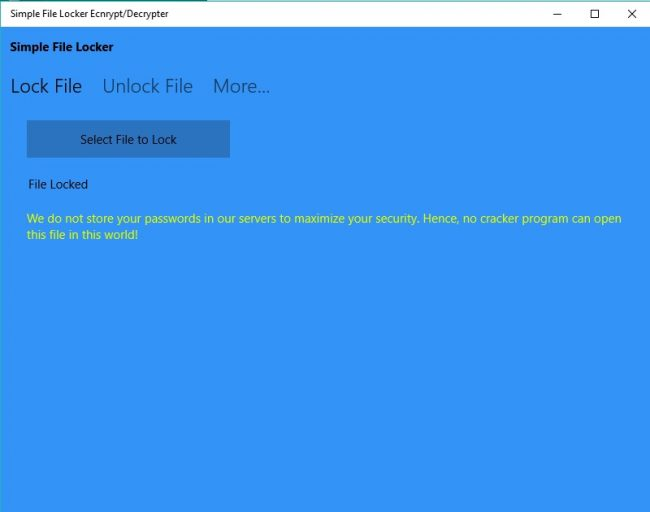 Bloquer l'accès à un programme ou un fichier sous Windows 10 avec un mot de passe