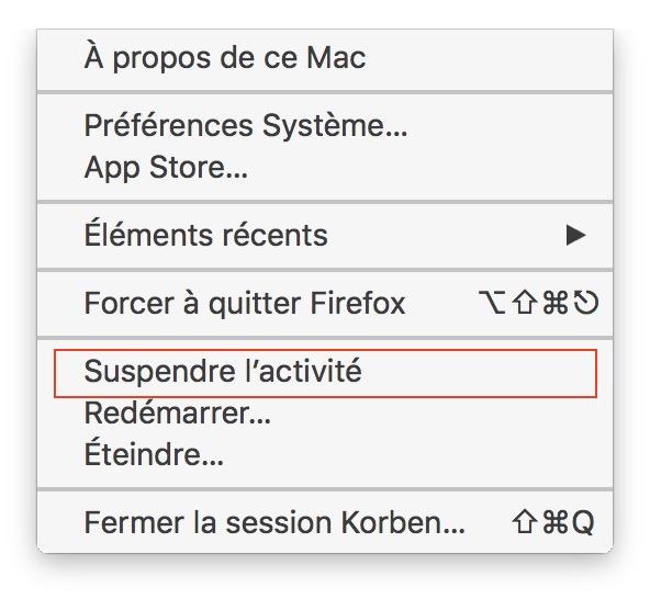 Comment faire hiberner un iMac ?