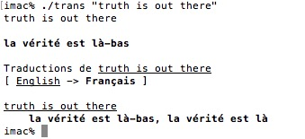 Translate Shell – Un traducteur pour votre terminal