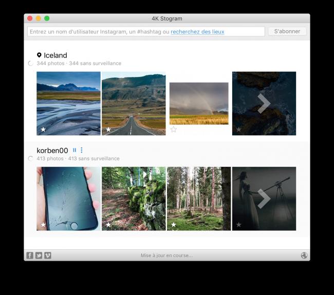 4K Stogram – Télécharger des photos Instagram sur votre ordinateur