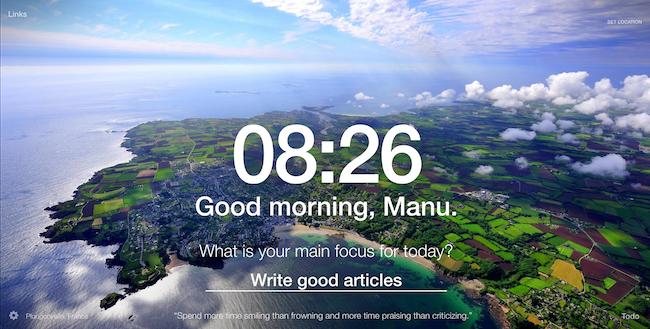 Momentum – Une extension qui vous aidera à atteindre vos objectifs