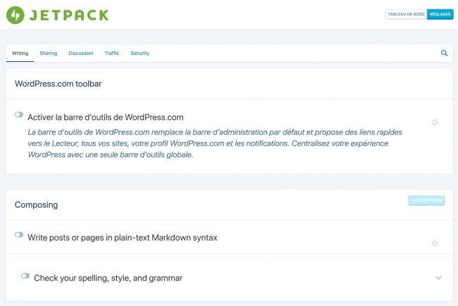 Accèder aux modules cachés de Jetpack pour WordPress