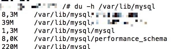 Connaitre la taille des bases de données MariaDB MySQL