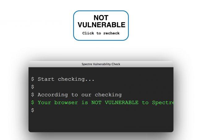 Spectre – Votre navigateur est-il vulnérable ?