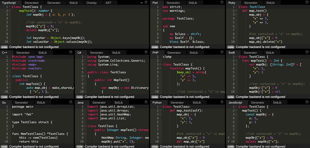 OneLang – Pour coder dans plusieurs langages en même temps