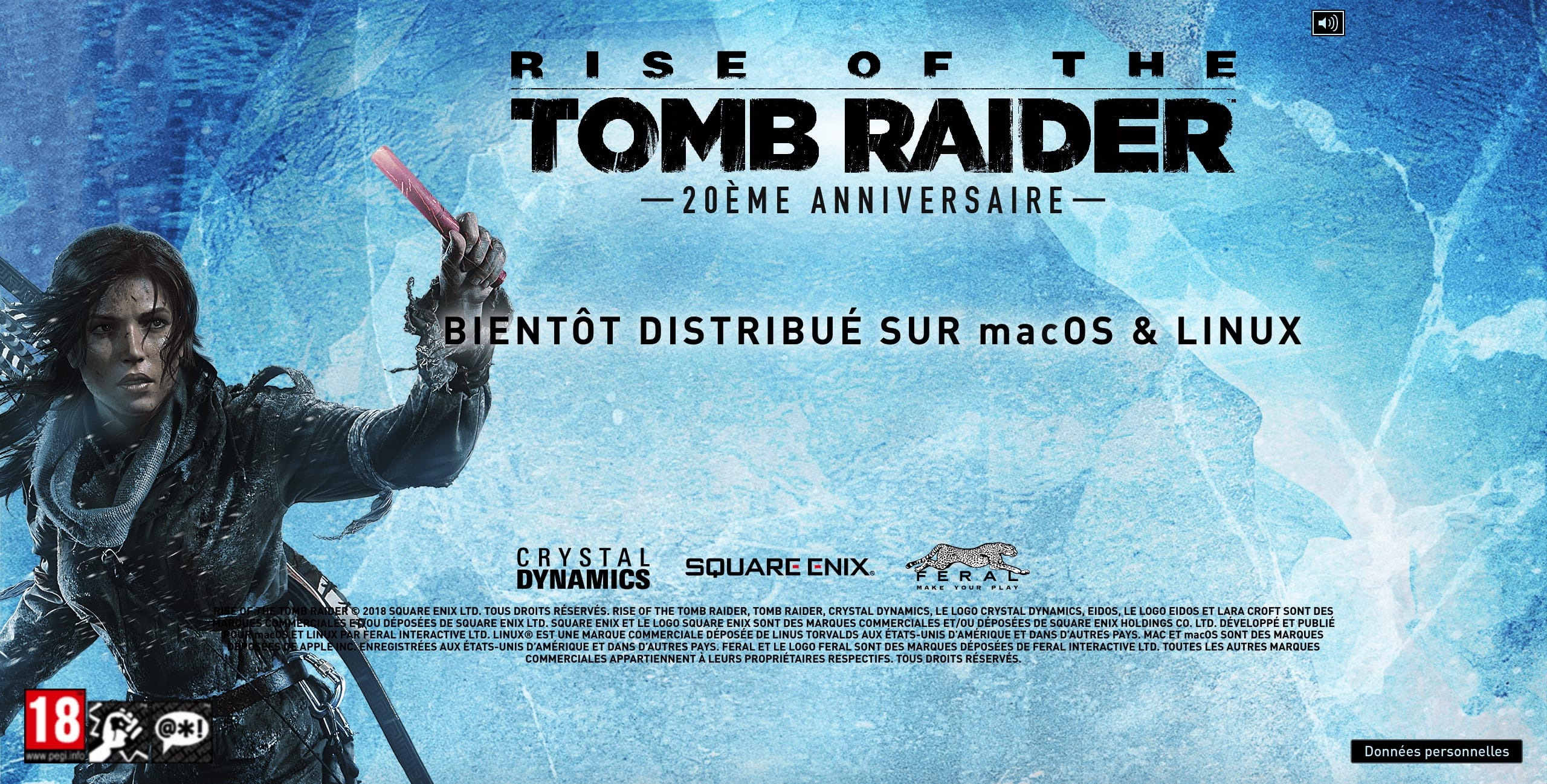 Rise of the Tomb Raider bientôt disponible sous Linux et macOS