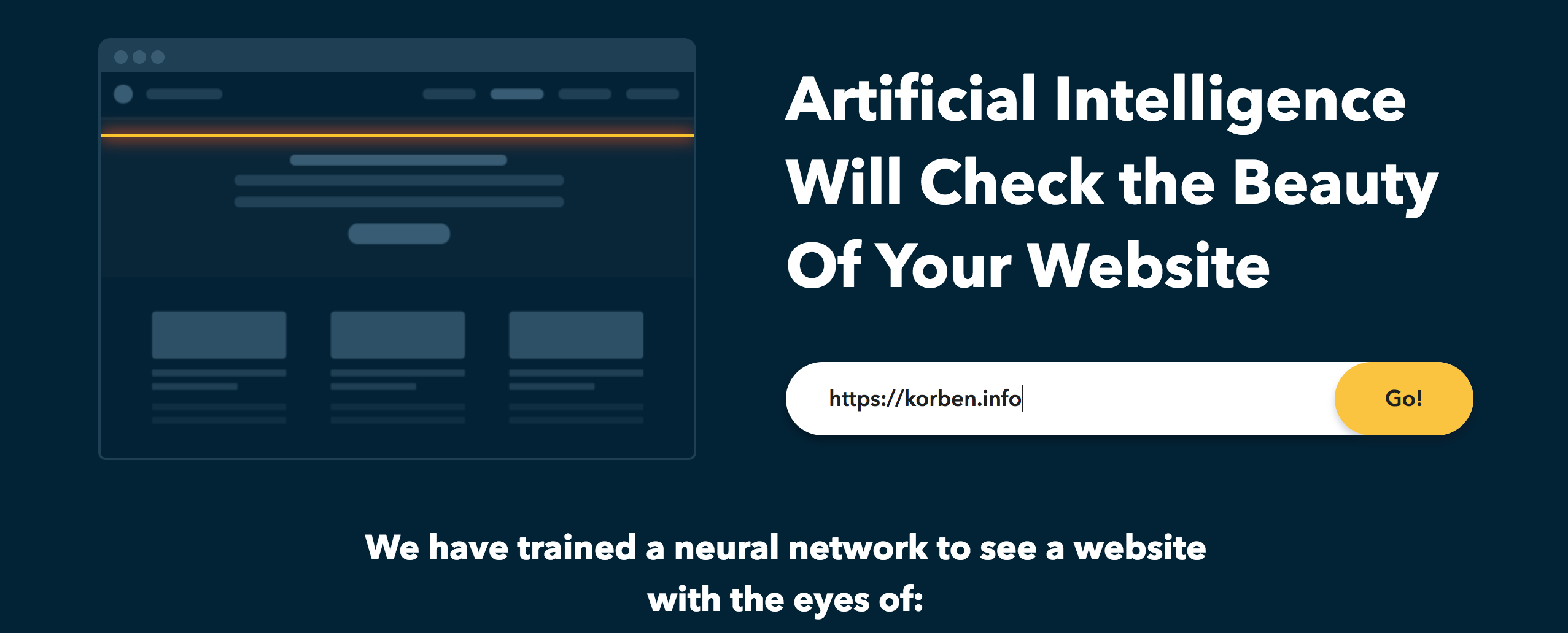 Votre site web est-il beau ?