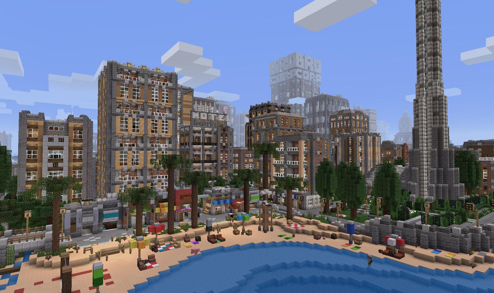 Broville – Une ville Minecraft où vous aimerez vous perdre