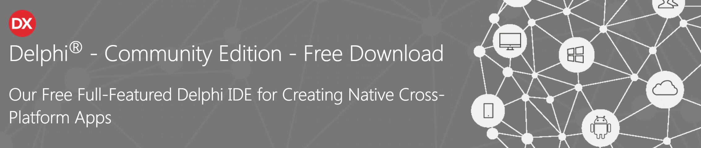 Delphi et C++ Builder gratuits