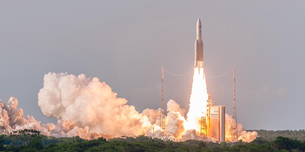 Assistez au lancement de la 100e fusée Ariane 5 #WithAriane
