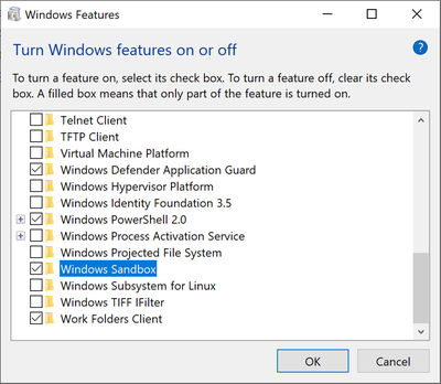 Windows Sandbox arrive bientôt – Korben