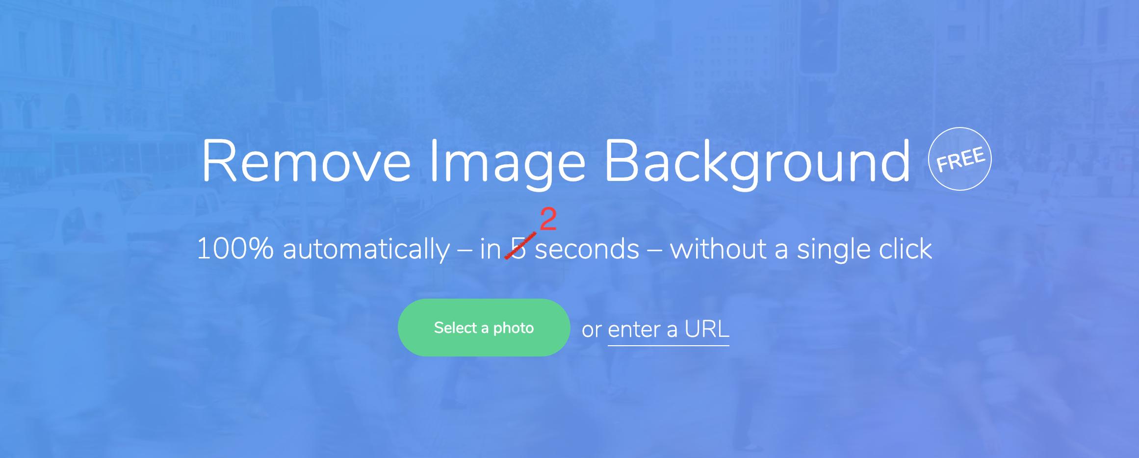 Détourer une image en 2 sec.