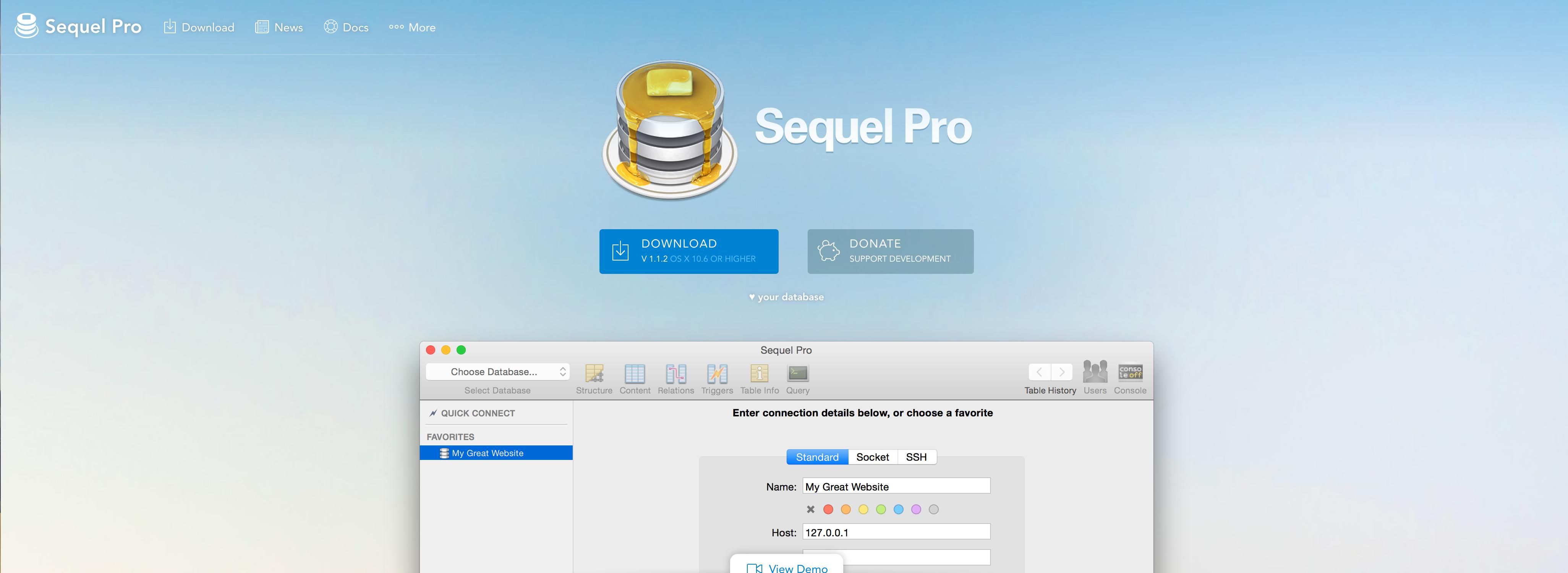 Sequel Pro – Le client MySQL qu'il vous faut